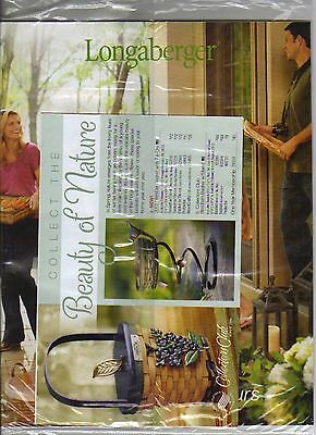 LONGABERGER CATALOG, BRAND NEW, Still in Plasic mailer, Spring & Summer 2012