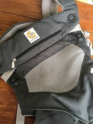Ergo Baby 360 Carbon Grey Carrier Cool Air