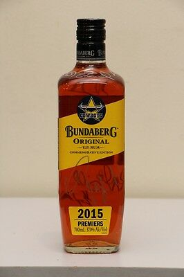 Bundaberg Rum Cowboys Commemorative Edition - Signed by Premiership Team Members
