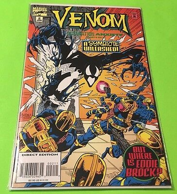 Venom Separation Anxiety #2 Marvel Comics