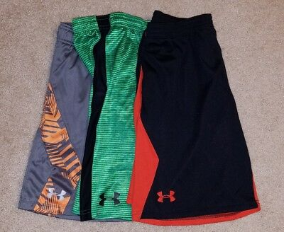 Lot under armour boys large L shorts