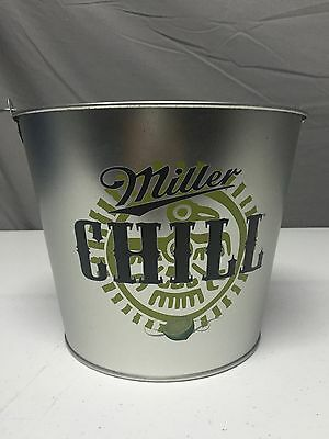 Tin Beer / Ice Bucket collectable BBQ (Miller Chill) / Man Cave