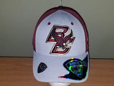 best service 308d7 e3418 Boston College Eagles NCAA Gray and Maroon Fitted M L TOW New Hat