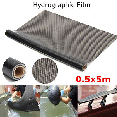 50x500cm Hydrographic Texture Carbon Fiber Water Transfer Dipping Print Film