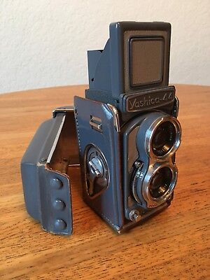 Yashica 44 TLR 127 Film Camera With 60mm f3.5 Lens And Case