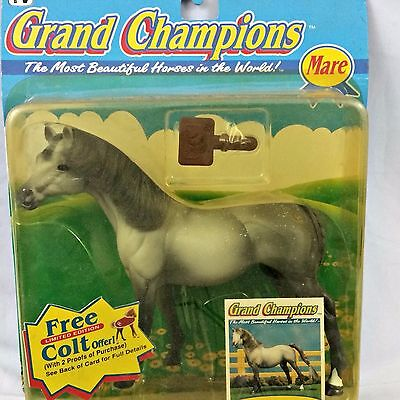 Grand Champions Horse 1995 Tennessee Thoroughbred Mare Vintage Play Set NIB