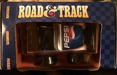 Pepsi Die Cast ROAD TRACK Duel Motors Friction Truck NIB Collectible