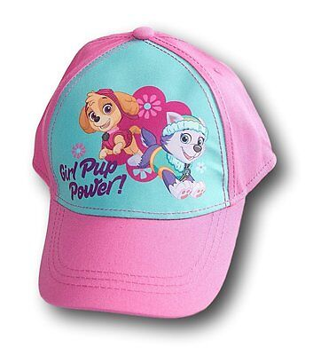 NWT Girl's Paw Patrol Cap Baseball Hat Girl Pup Power NWT Pink