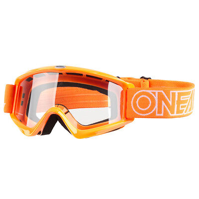 O'Neal Crossbrille B-Zero Orange Anti-Fog