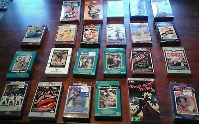 25 Beta Betamax Cassette Tapes, various titles, some new &  sealed.