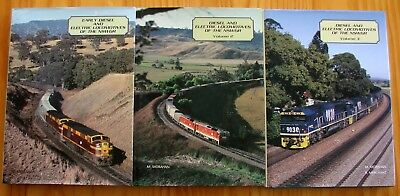 Diesel and Electric Locomotives of the NSWGR Vols 1, 2 & 3. (3 Book Set)