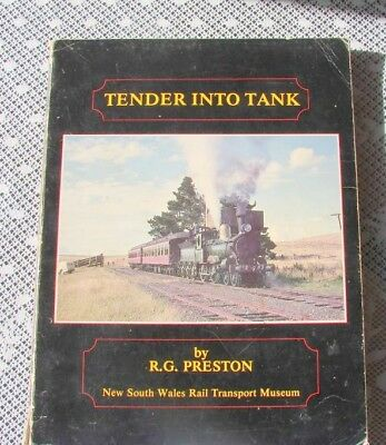 Tender into Tank (NSWGR/NSWR)