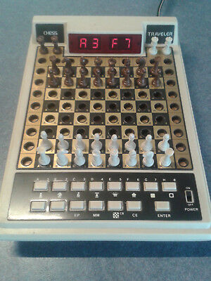 Retro Electronic Chess Game