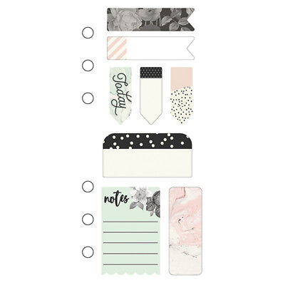 Simple Stories - Beautiful - Mini Sticky Notes - Personal Planner Size 8 Designs