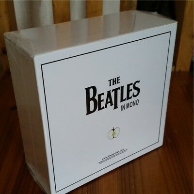 HOT The BEATLES In Mono Box Set 13 CD's Disc Set white box limited edition music