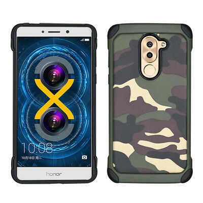 Army Camouflage Phone Cover Case For Huawei Mate 9 10 Lite P10 Honor 6X GR5 2017