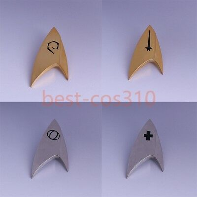 Star Trek Discovery Badge Command Operations Division Starfleet  Pin A Set Of 4