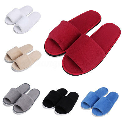 Pantoufles Femmes Hommes Chaussures Chaussons hôtel Spa Salons Voyage slippers