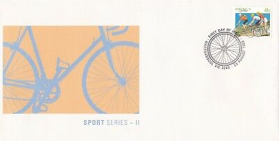 Cycling Bicycles Bikes Australia 1989 FDC