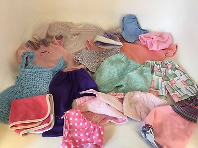 Mixed Dolls Clothes - Various Sizes - Mainly around Baby Born Size