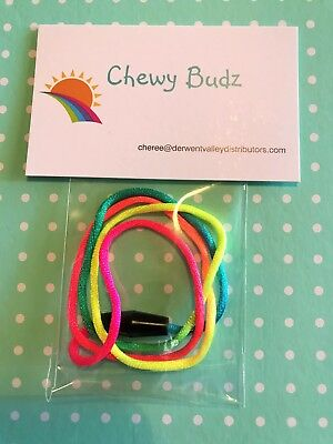 Silicone Chew Necklace Replacement Lanyard Cords with breakaway Clasp