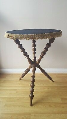 Bobbin legged Victorian Gypsy Table