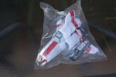 Battlestar Galactica Colonial Viper plush toy still in plastic with tags on