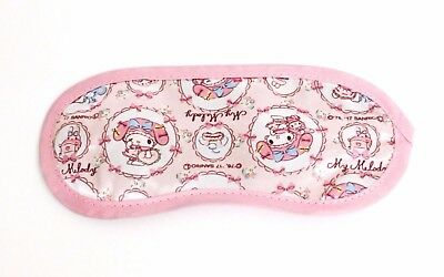 New My Melody Eye Mask for travel, plane Sanrio Kawaii Free Shipping from Japan