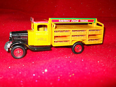 """Coca-Cola die-cast miniature Delivery Tray Truck ~ 6 """"~ made in W. Germany"""
