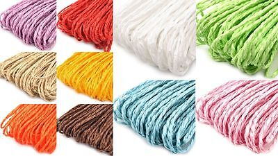 Paper twine approx. 30m (0,10€/m) 2mm Cord tinker decorate decorating