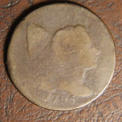 1795 Capped Liberty Large Cent, S-78