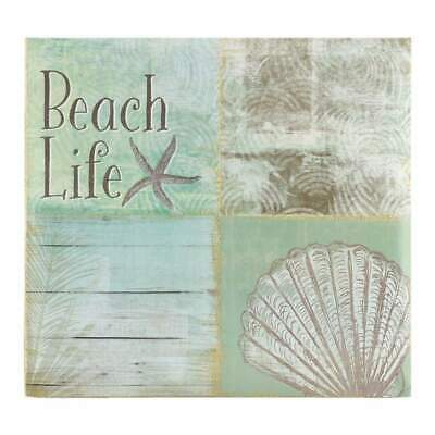 NEW MBI Expressions Post Bound Album 12 inch x12 inch Beach Life