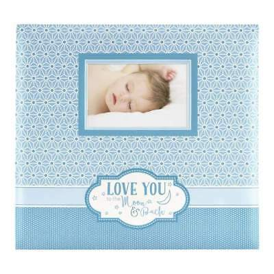 MBI Expressions Post Bound Album with Window 12 inch x12 inch Moon & Back