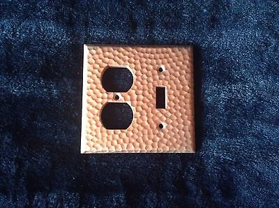 Vintage Copper Single Light Switch & Dual Outlet Cover Switch Plates  Lot of 7