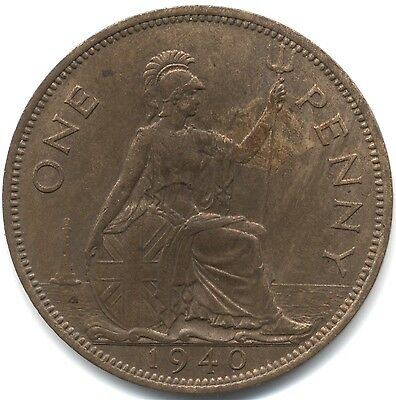 1940 George VI One Penny***Collectors***