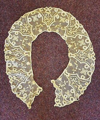 Antique/vintage Honiton? Brussels ?  lace collar