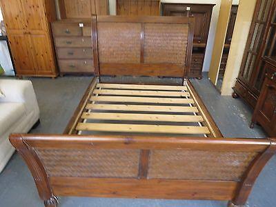 Antique Sleigh king size bed