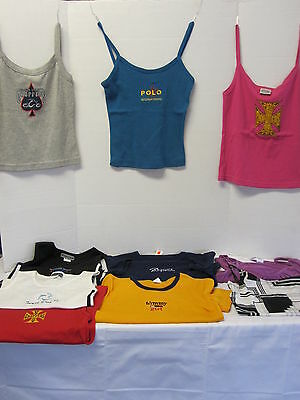 Lot Of 10-Ladies/girls-Size Small-Tanks/tees-Designer Styles-Some W/tags-Cute! 1