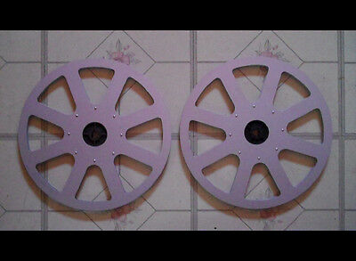 ELMO 2X1200ft METAL REELS Excellent condition!  AWESOME!