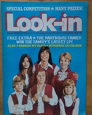 look in magazine no 5 January 1973