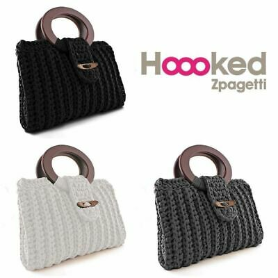 Hoooked Zpagetti Recycled T-shirt Jersey Yarn - DIY Handbag Crochet Kit Vienna