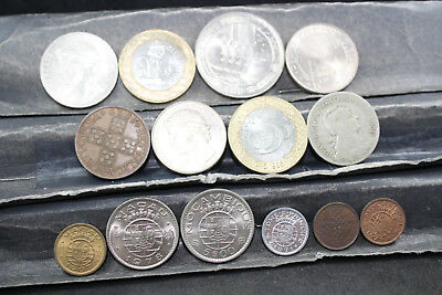 Portugal + colonies  14 assorted coins   lot H 235