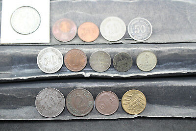 Germany  14 mixed lot coins   lot M 209