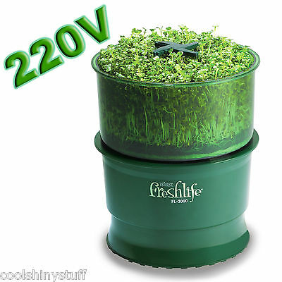 Tribest Freshlife 3000 220V Automatic Sprouter FL-3000 Sprouting System Sprouts
