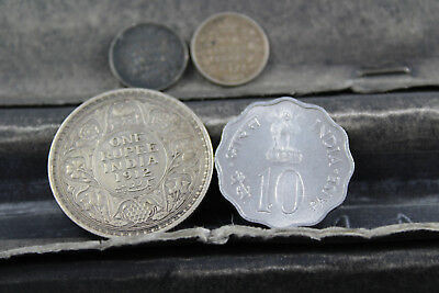 INDIA  5  assorted coins   lot M 210