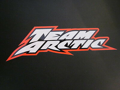 Arctic Cat team arctic orange decal sticker