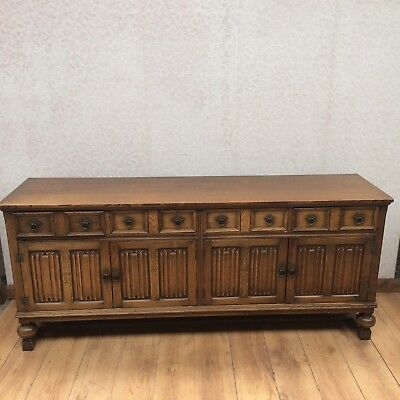 Jacobean Priory Style Sideboard