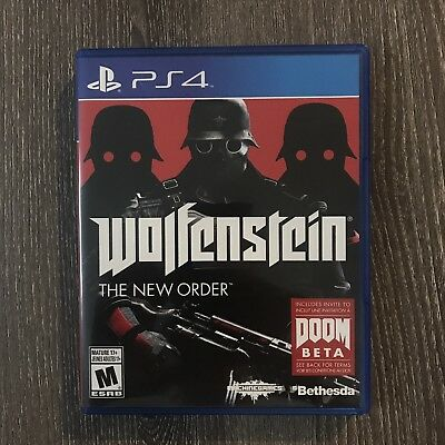 Wolfenstein: The New Order COMPLETE (Sony PlayStation 4, 2014)