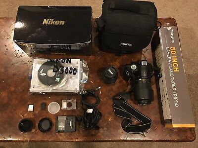 Nikon D3000 With 2 Lenses And Lots Of Other necessities!!!
