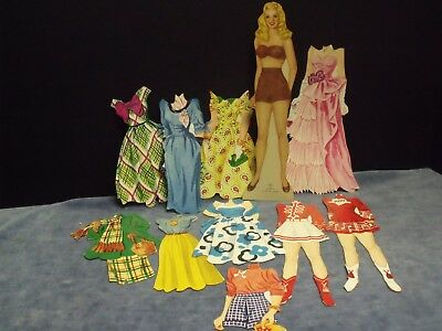Mary Hartline Magnetic Paper Dolls in Original Package from Kellogg's Cereal Co.